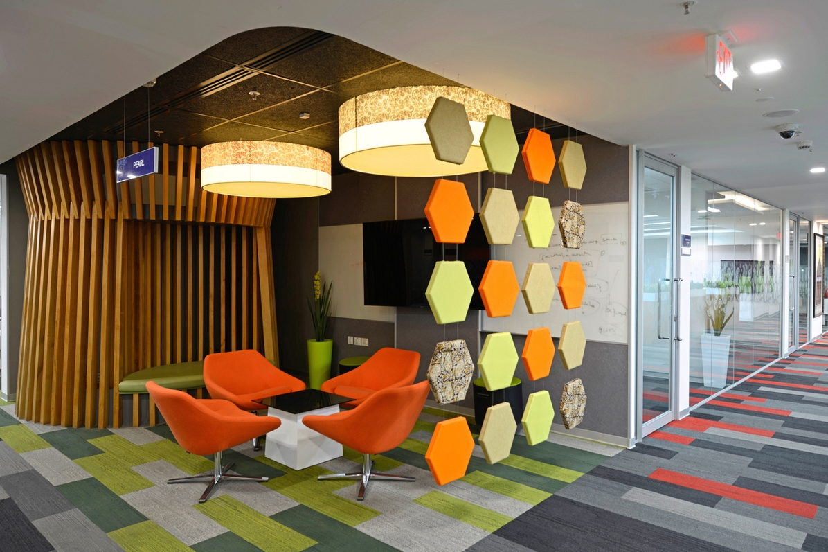 Nizam Culture Reflects In Office Decor Of Pegasystems Hyderabad Dsp Design Associates The Architects Diary