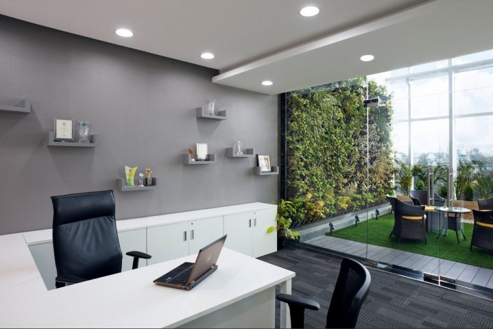 Phenomenal Small Modern Office Design Of Iifl Offices Pune Zyeta Download Free Architecture Designs Sospemadebymaigaardcom