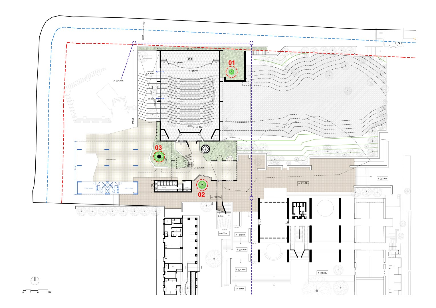 New Cept University Campus Plan The Architects Diary