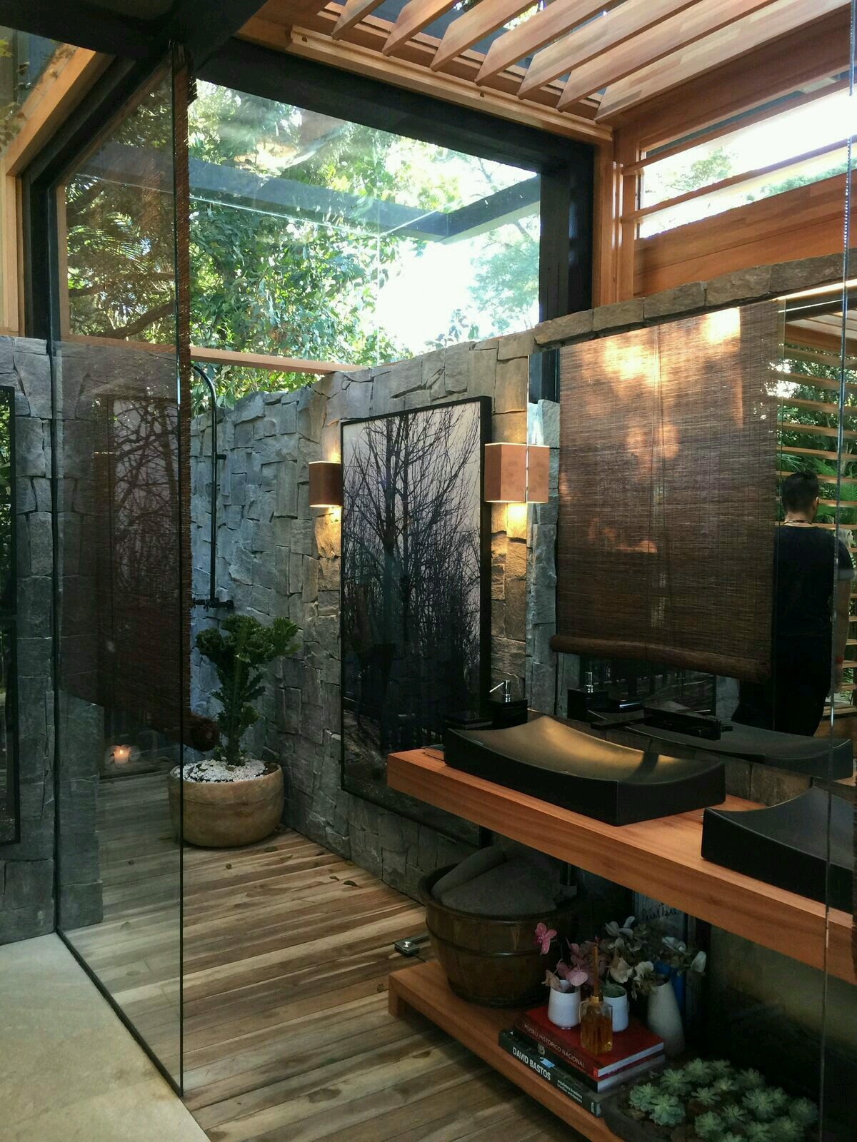 20 Amazing Open Bathroom Design Inspiration - The ...