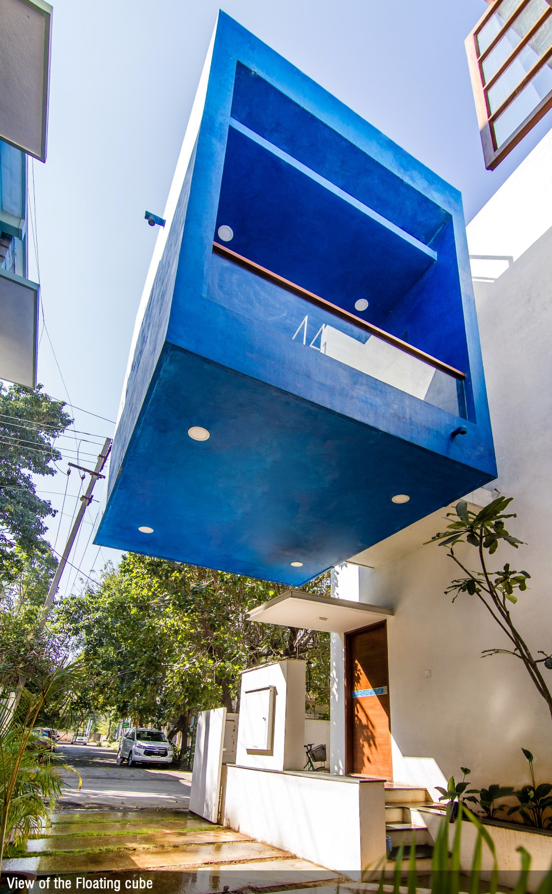 A Modern Tree House Cube Square Collage Studio The