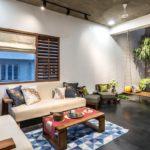 Cube House Livingroom