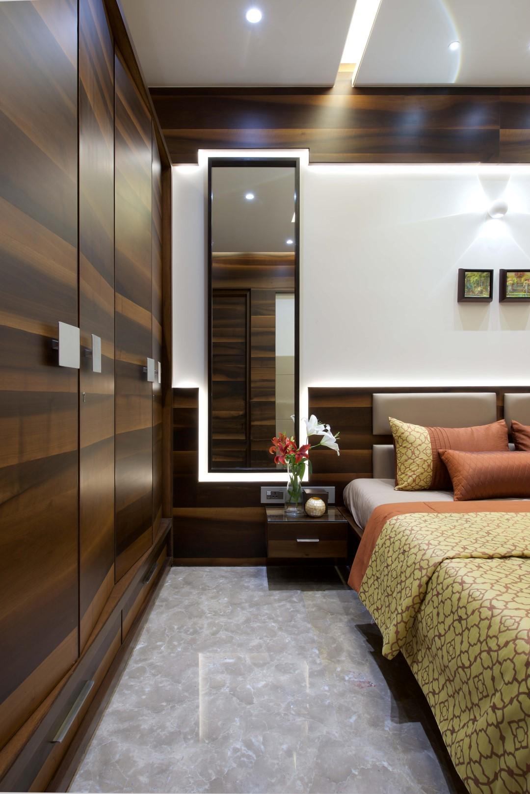 Interior Design Ideas For Large Living Room: 3 BHK Apartment Interiors At Yari Road