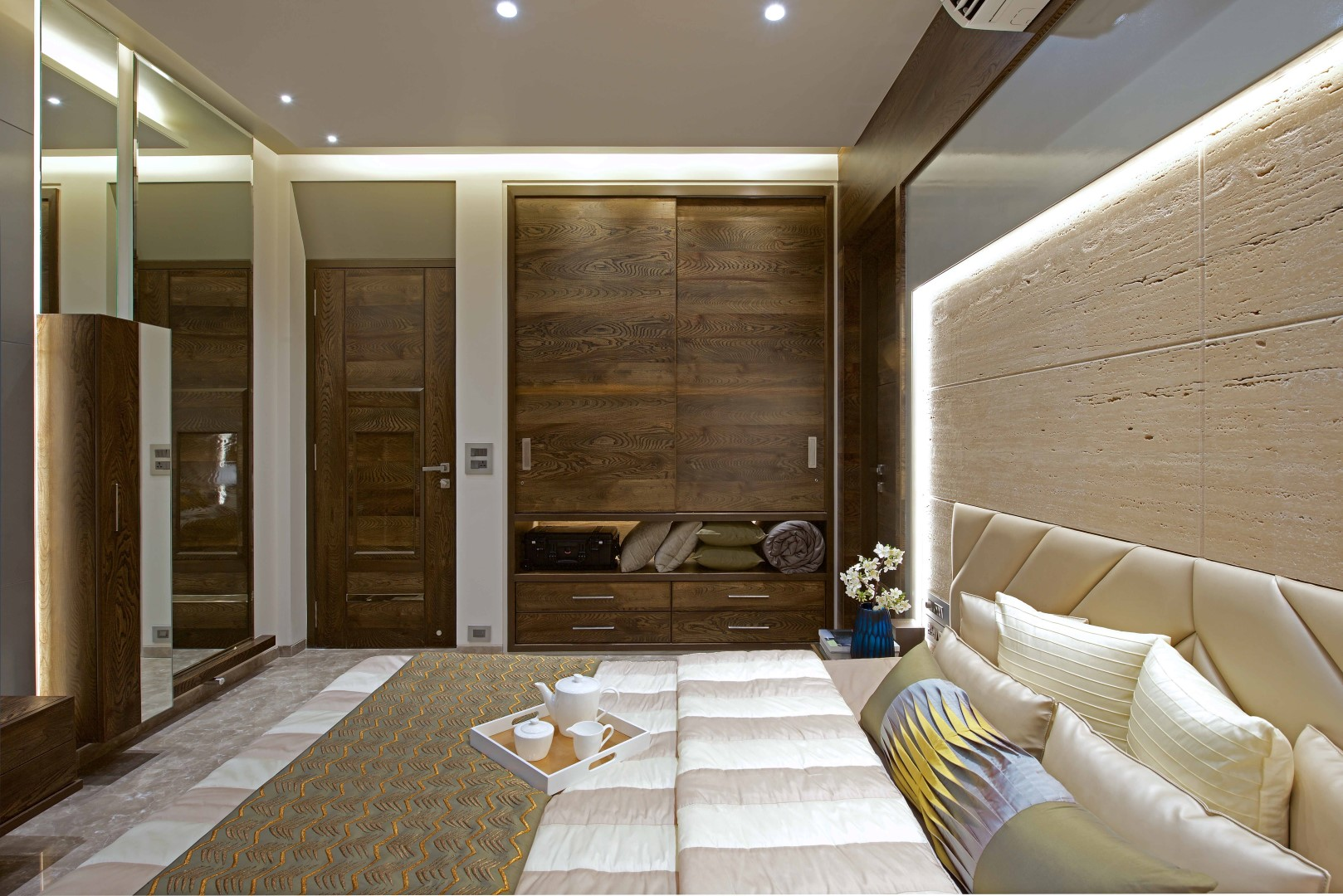 3 Bhk Apartment Interiors At Yari Road Amit Shastri Architects The Architects Diary