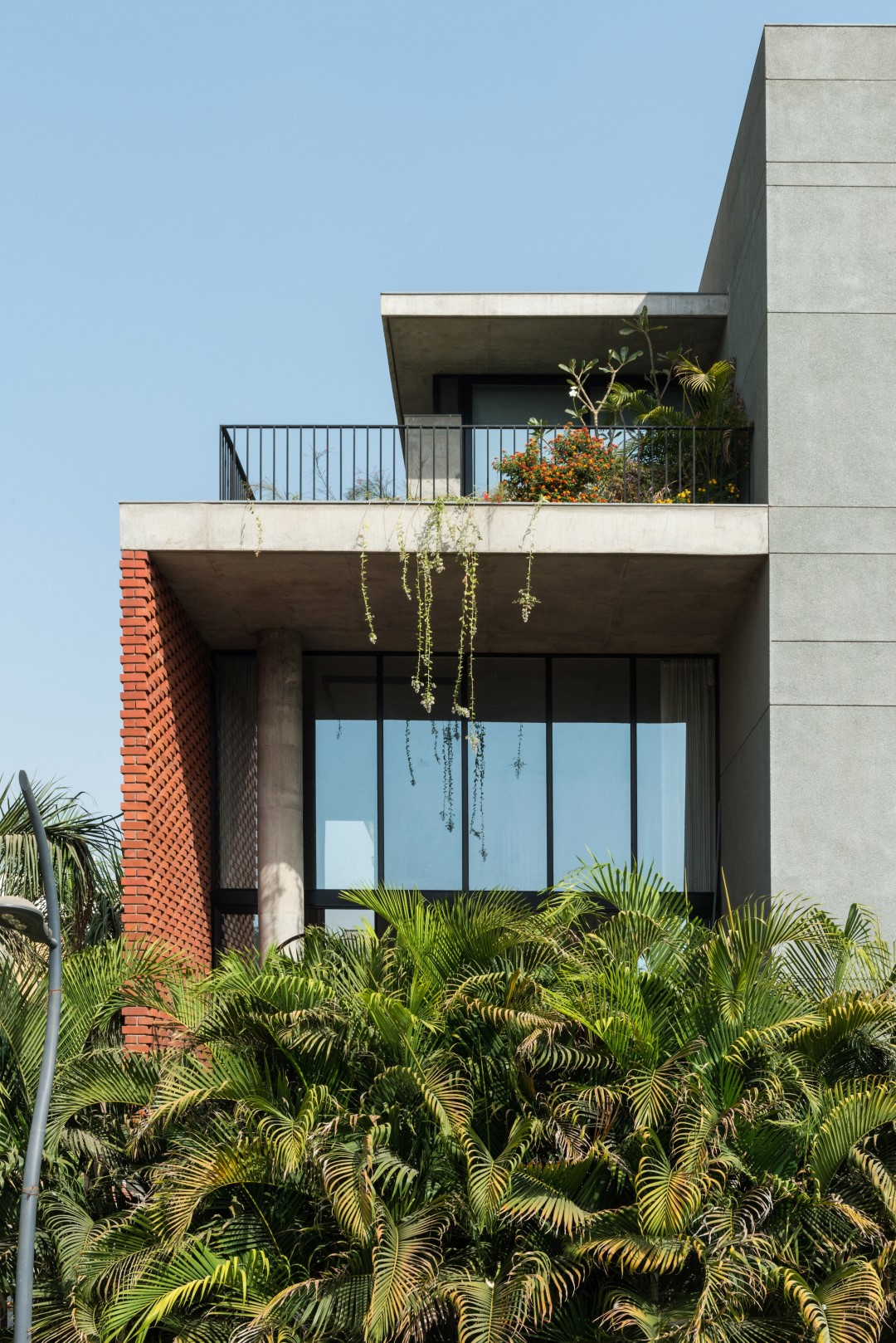 Brick Facade House Design Work Group The Architects Diary