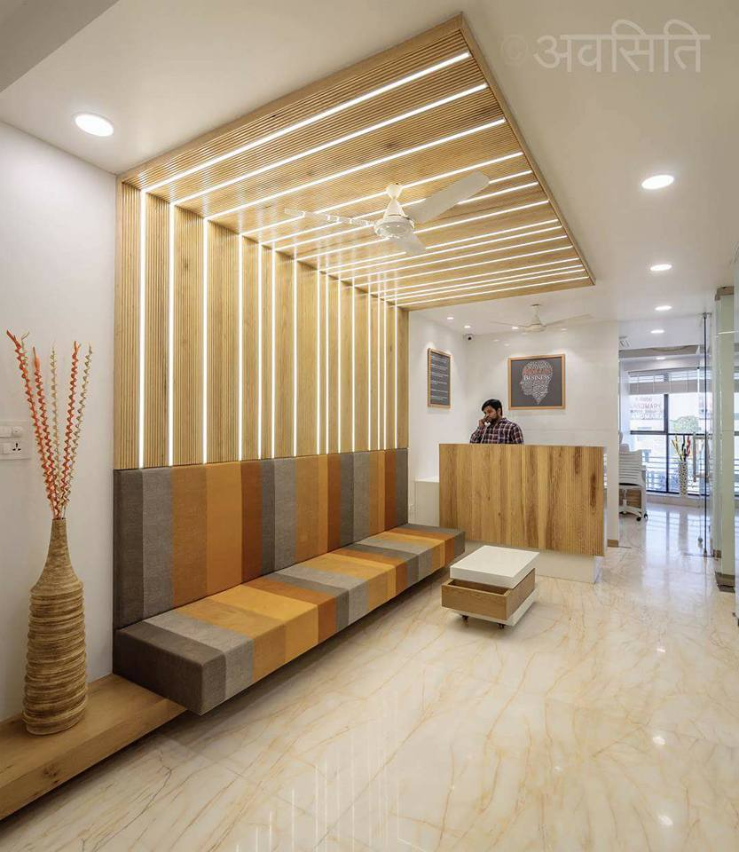 Creative Interior Design: Minimalistic And Simplistic Office Interiors