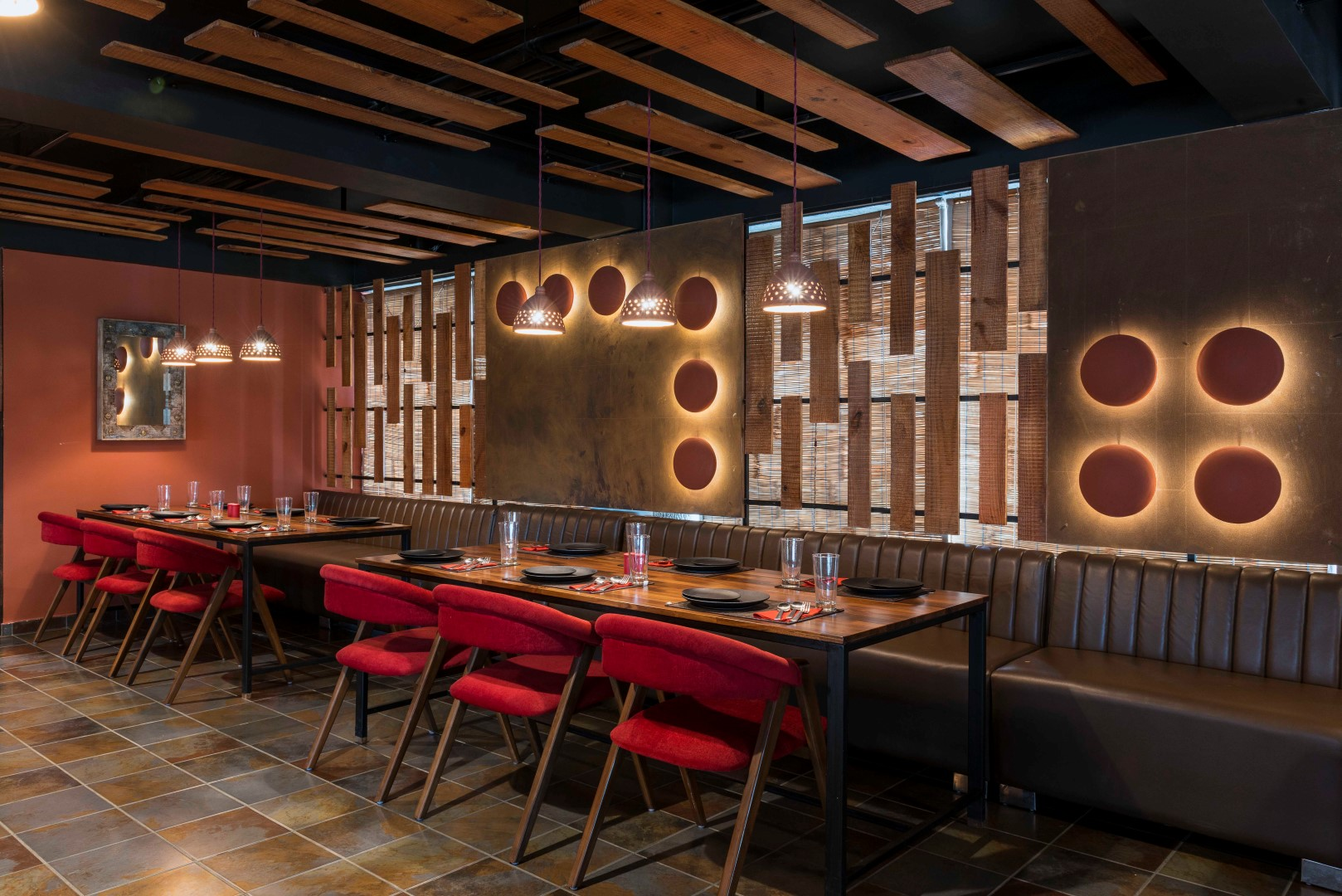 Fusion Of Modernity And Medieval India Terracotta Restaurant The