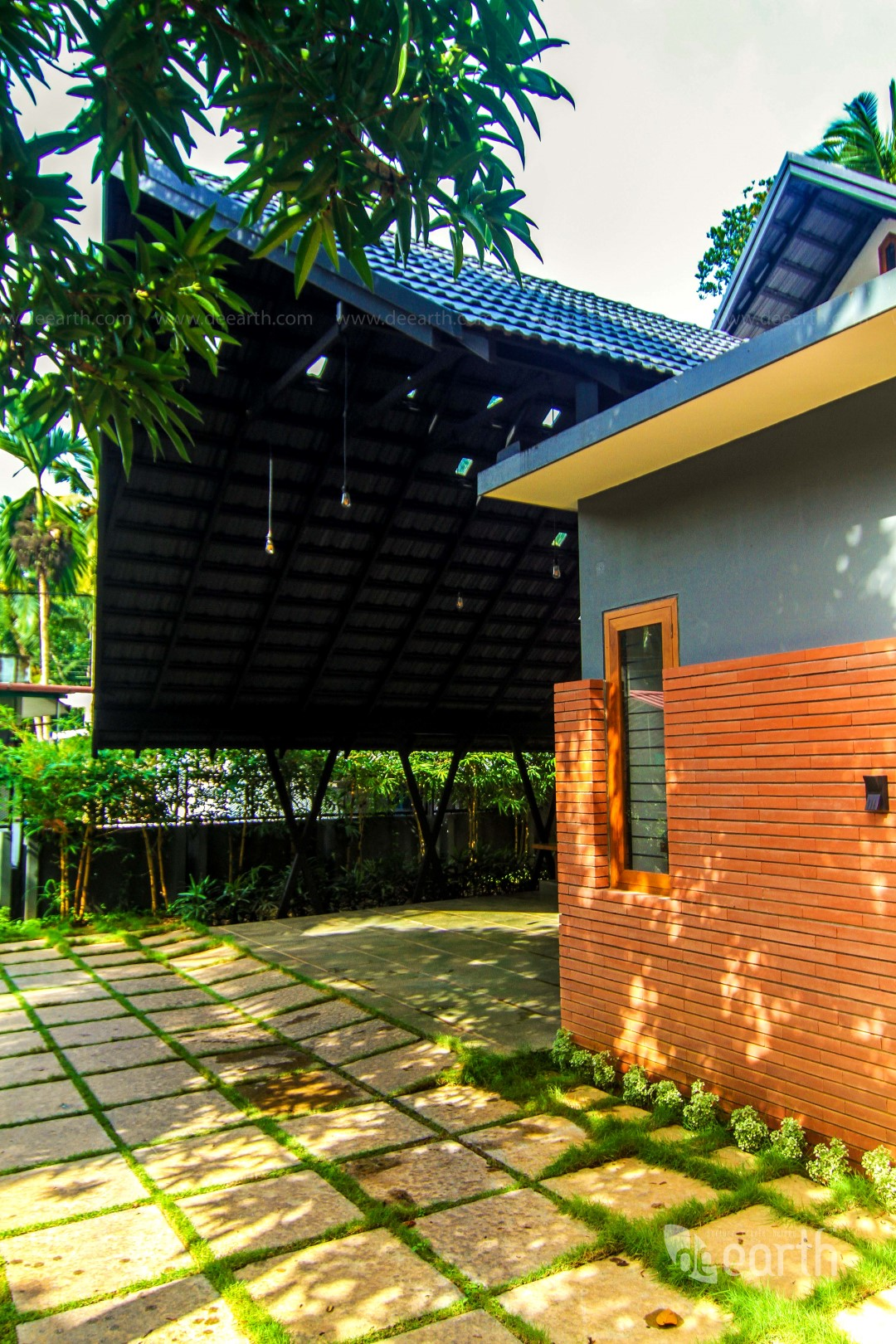 The Garden House Calicut De Earth The Architects Diary
