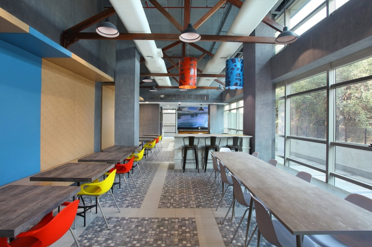 The Office Design Has Industrial Raw Exposed Feel Geodesigns