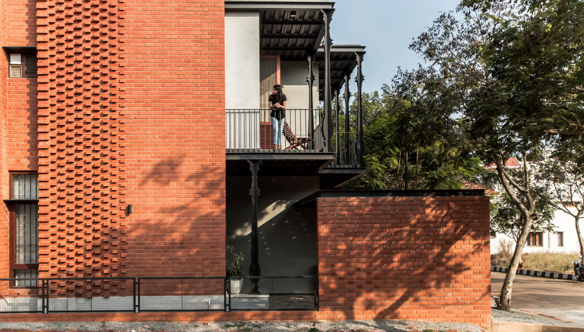 Brick House Draws Inspiration From Traditional Kerala