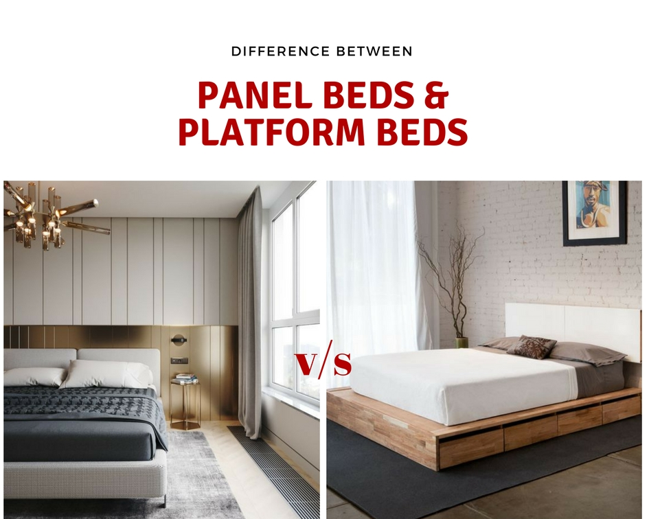 Difference Between A Panel Bed And Platform Bed