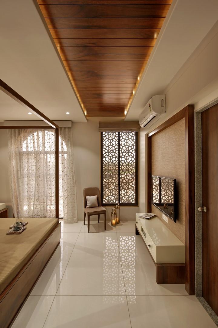 Interior Design Ideas For Large Living Room: Sample Villa Interiors For Alaswad Villas, Vadodara