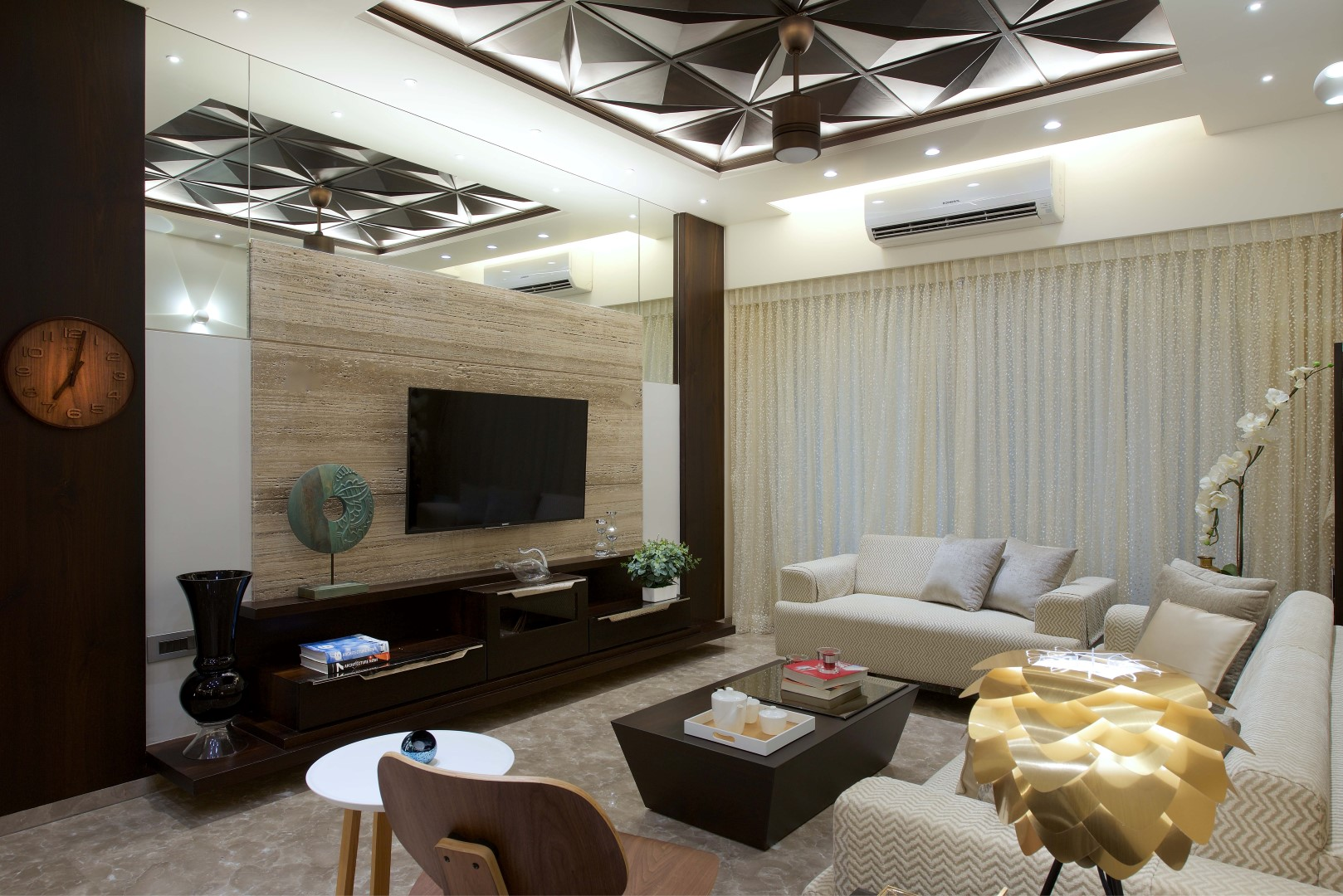 2 boutique 3bhk home designed by zed designs