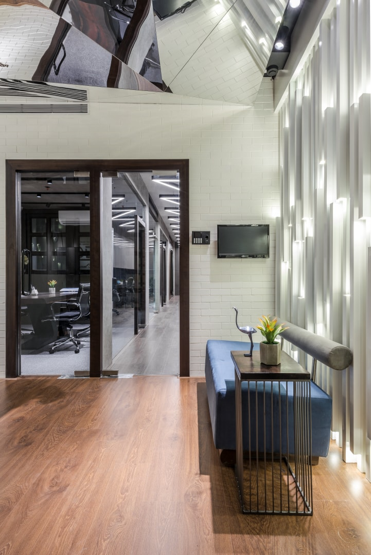 Office Design Is Bold And Spirited Composition Limited