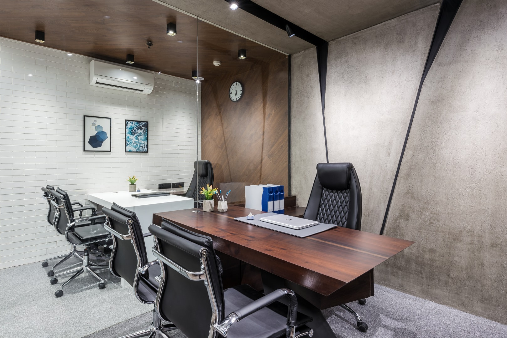 innovative cabin interior design | Office Design Is Bold and Spirited Composition | Limited ...
