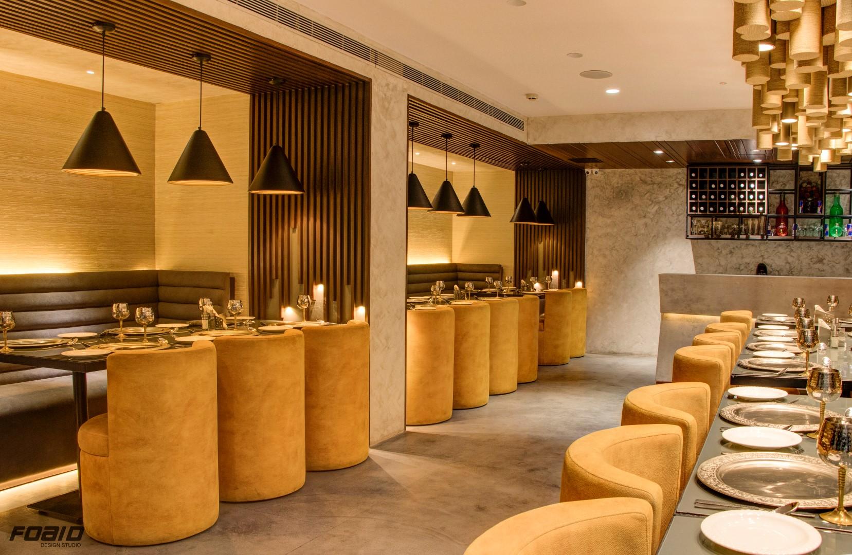 Jalpaan restaurant interiors is adaption of indian modernstyle foaid