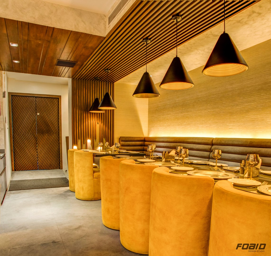 "Indian Interior Design: Jalpaan Restaurant Interiors Is Adaption Of ""Indian Modern"