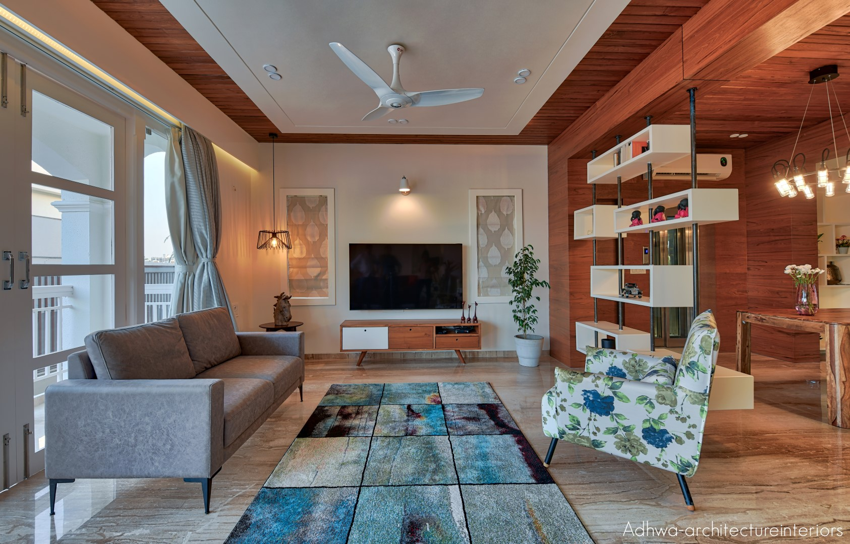 Modern residence interior design adhwa