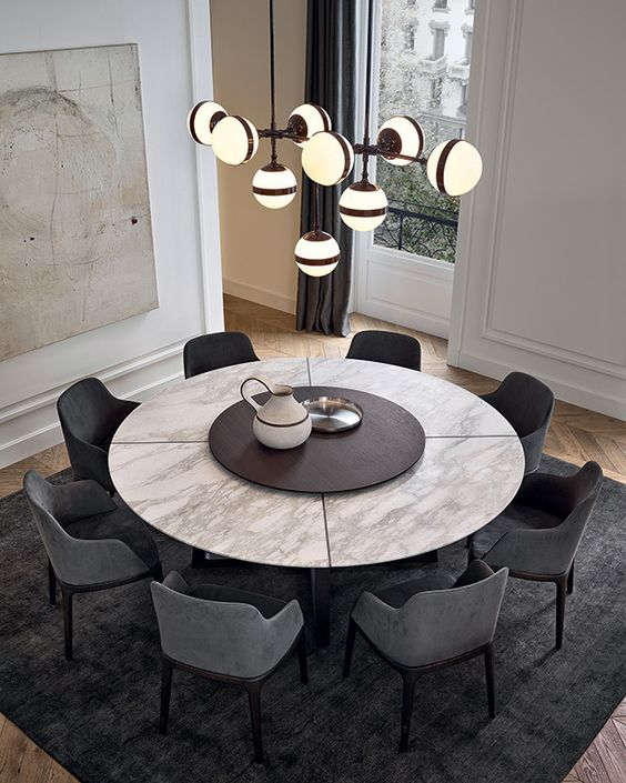 Round Dining Tables For Small Spaces 34 The Architects Diary