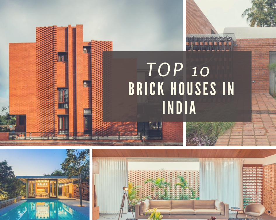 Top 10 Brick Houses In India The Architects Diary