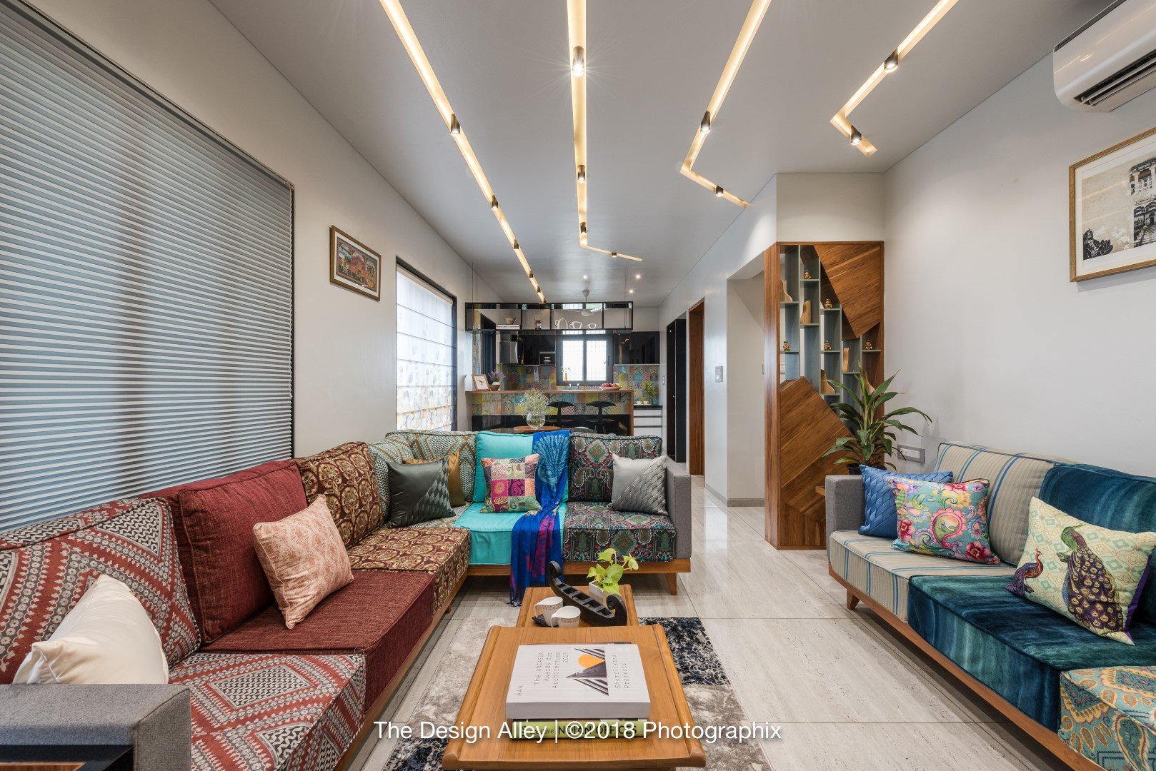 3BHK Apartment Capture the Essence of Their Rajasthani Roots ... on ahmedabad homes, south india homes, assam homes, delhi homes, south asia homes, bangalore homes, juhu homes, north india homes, darjeeling homes,
