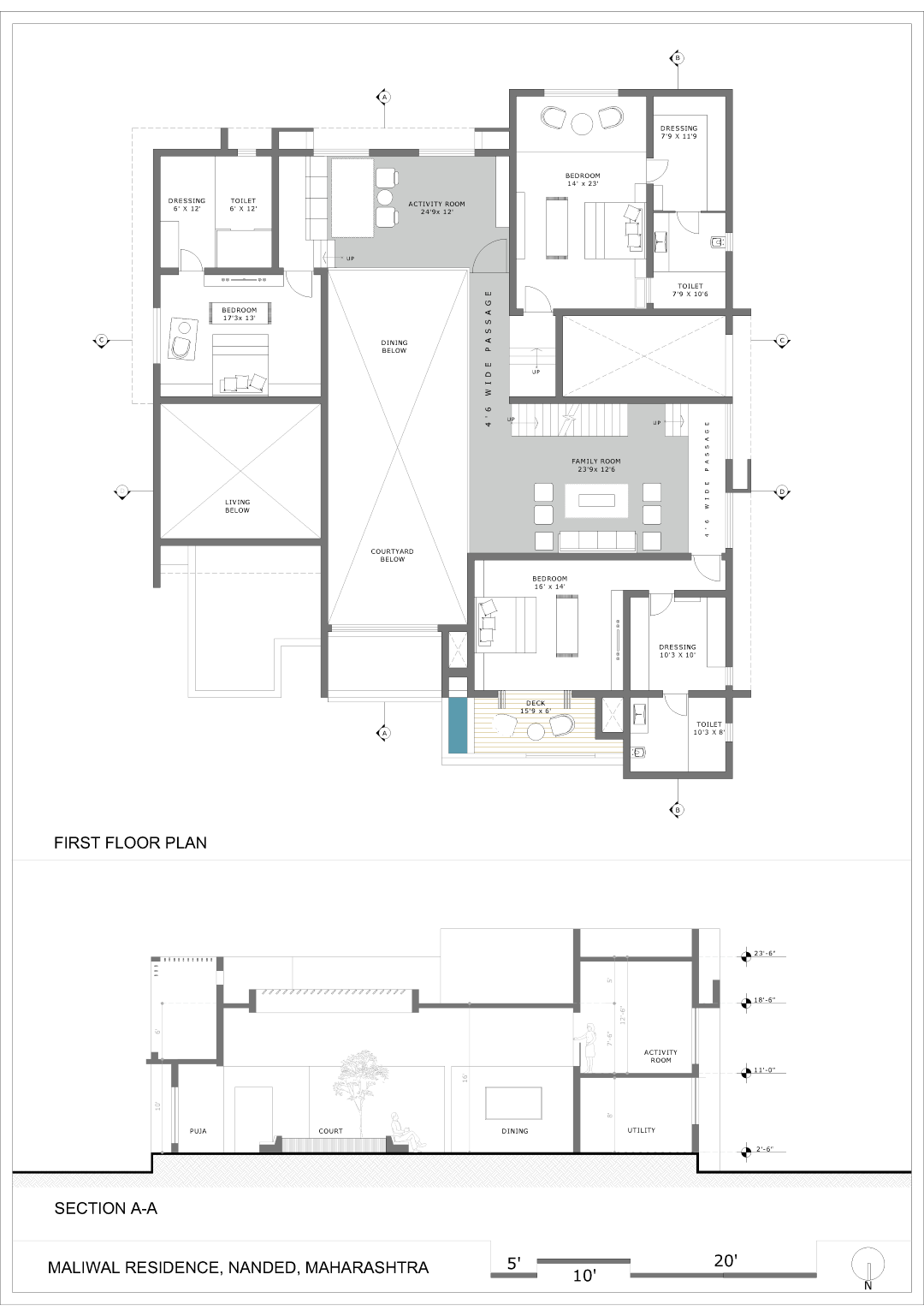Contemporised Paraphrase Of A Traditional House 4th Axis Design