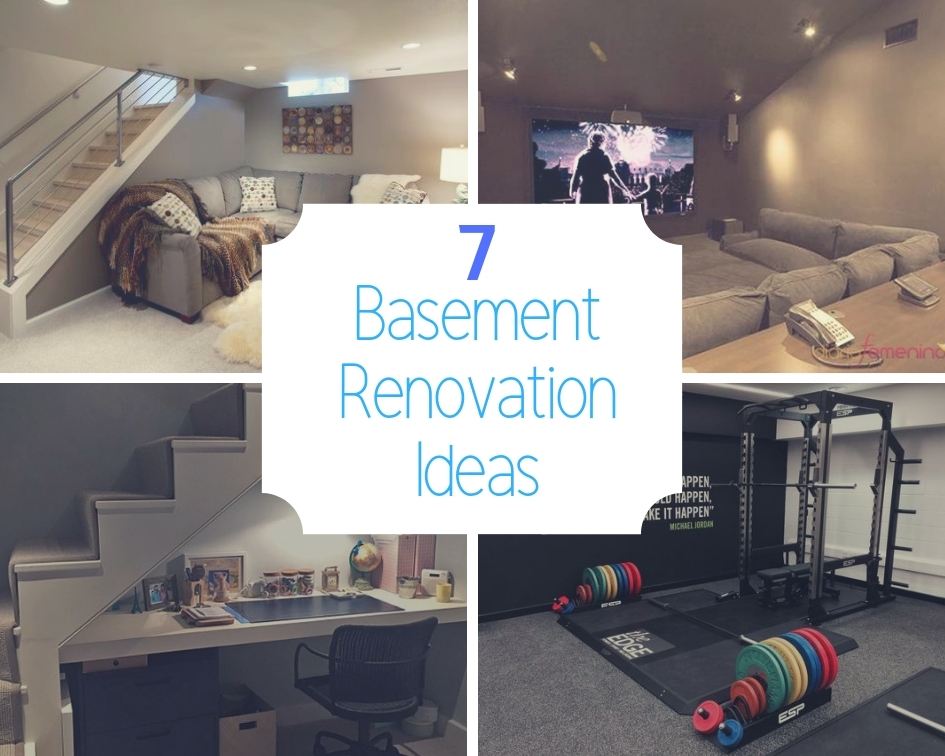 Seven Basement Renovation Ideas The Architects Diary Extraordinary Basement Renovation Ideas