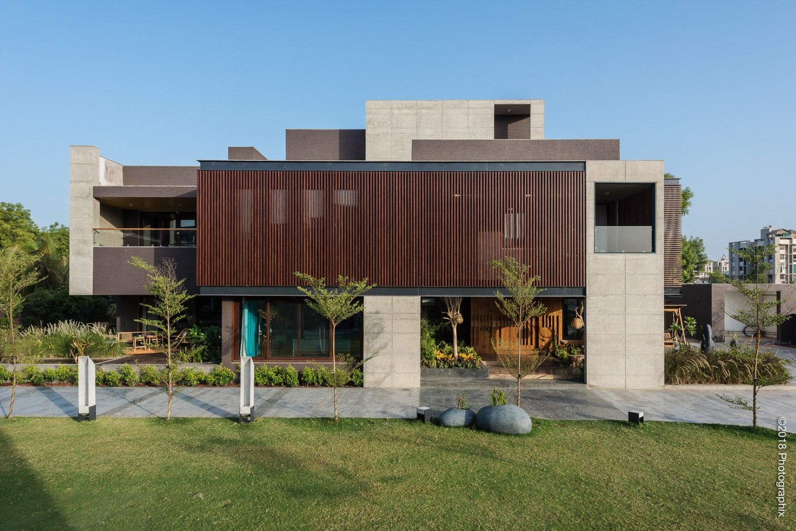 Screen House | The Grid Architects