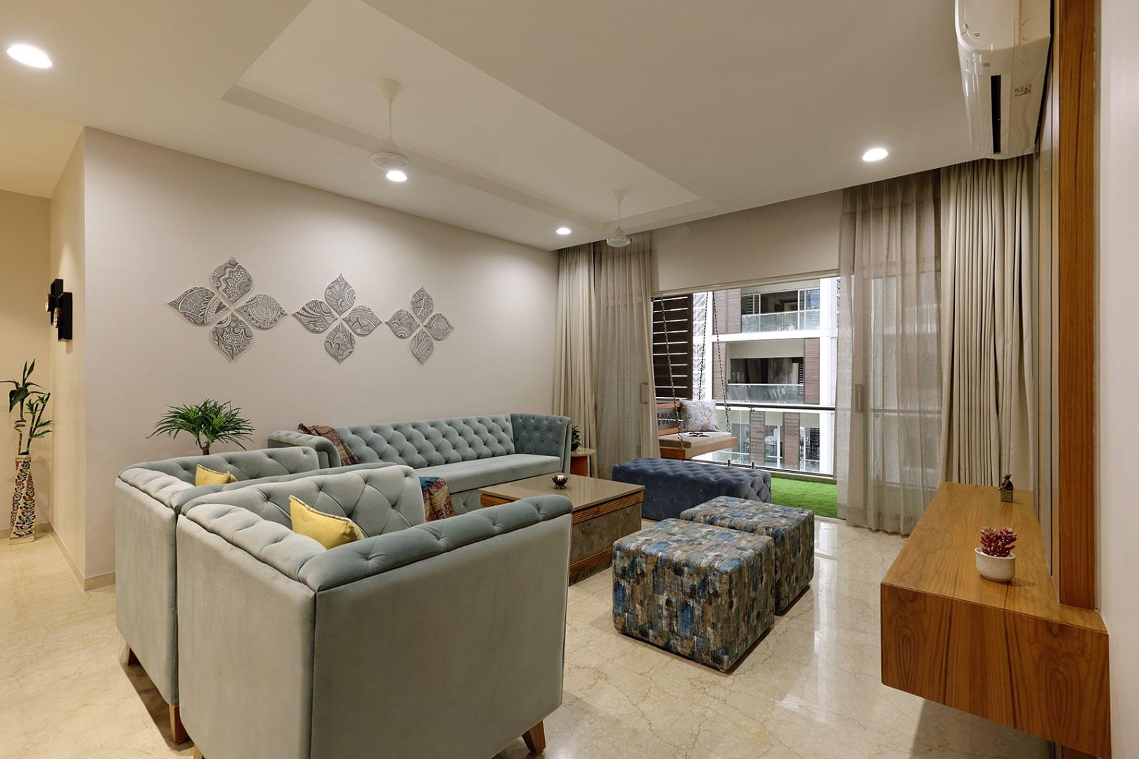 Floral Pattern Inspires Apartment Interiors|Studio 7 - The ...