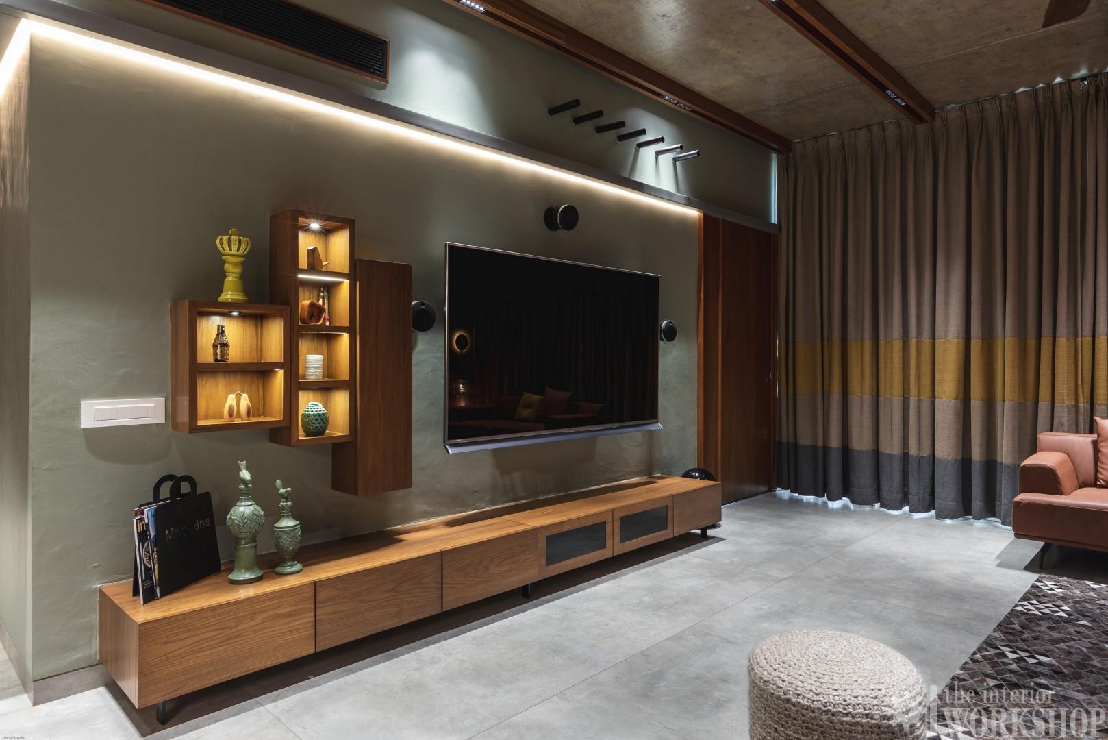 Rustic Minimalist Apartment Interiors The Interior
