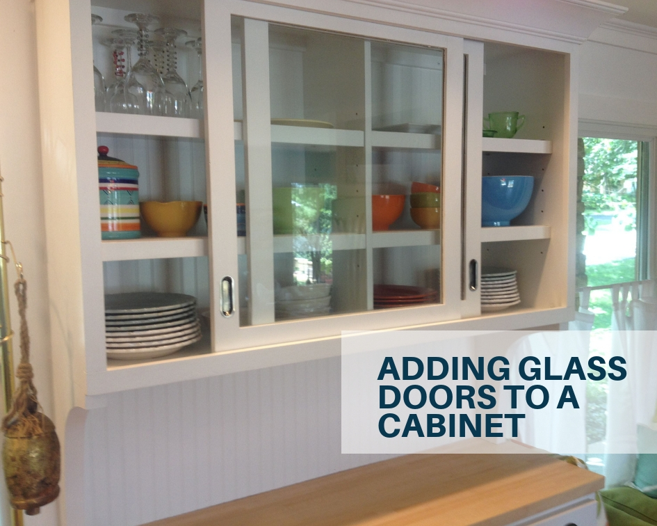 adding glass doors to a cabinet the architects diary rh thearchitectsdiary com Putting Glass in Cabinets Kitchen Adding Glass to Kitchen Cabinet Doors