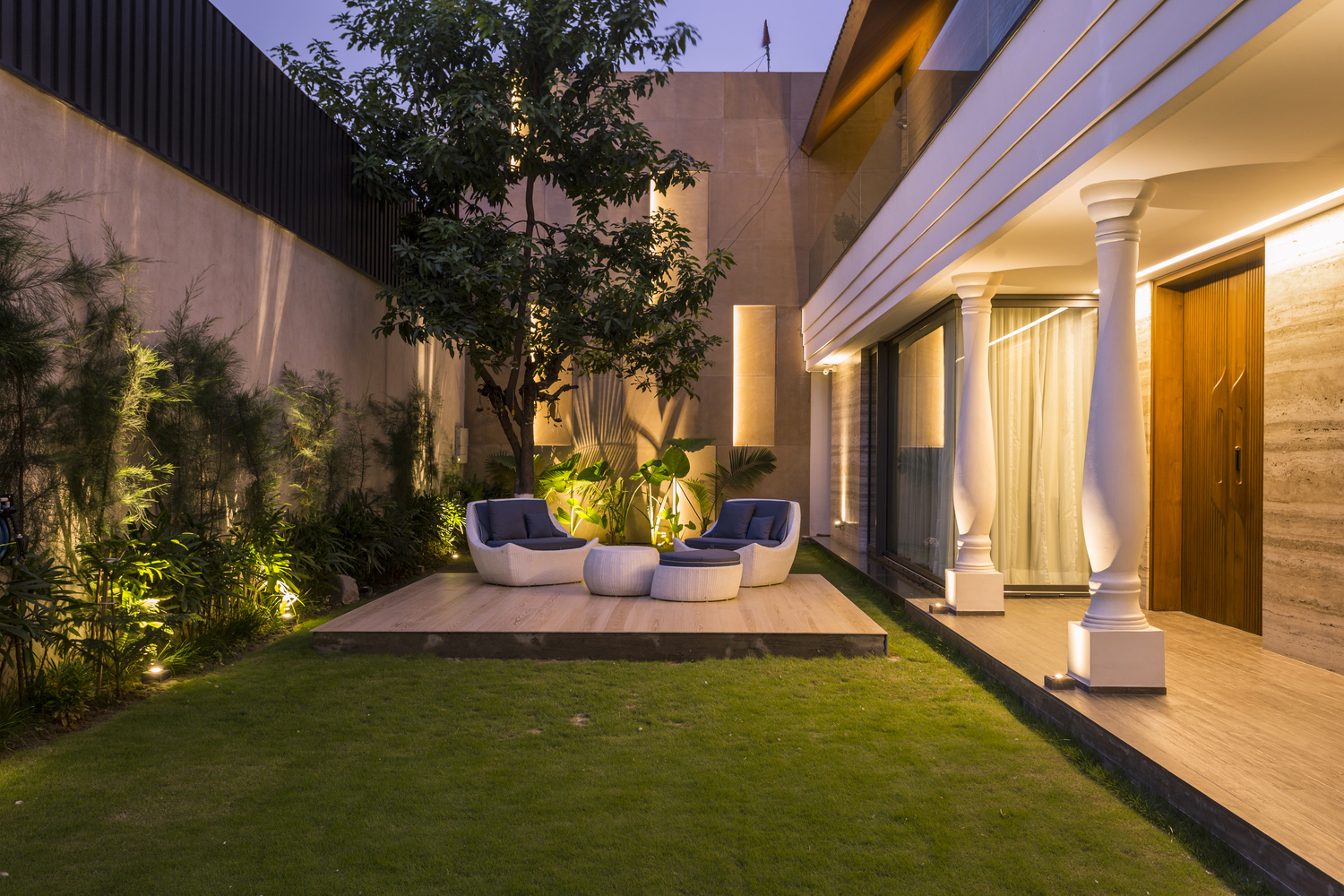 Contemporary design with elements of Indian Traditional