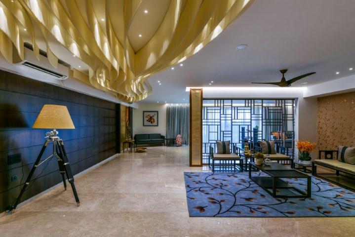 Sense of harmony in residence interior design aum - Harmony in interior design ...