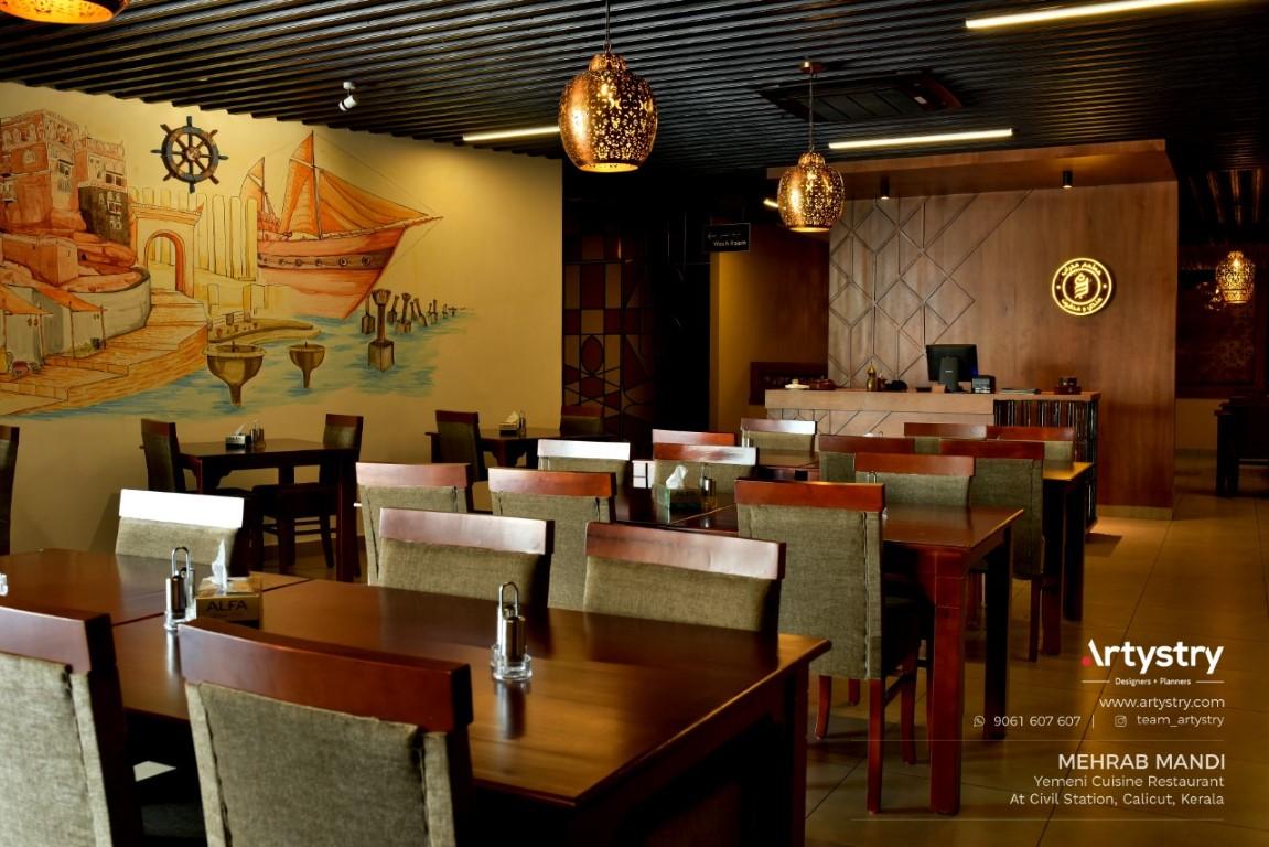 Arabic Style Restaurant Interiors Artystry Interior Design Studio The Architects Diary