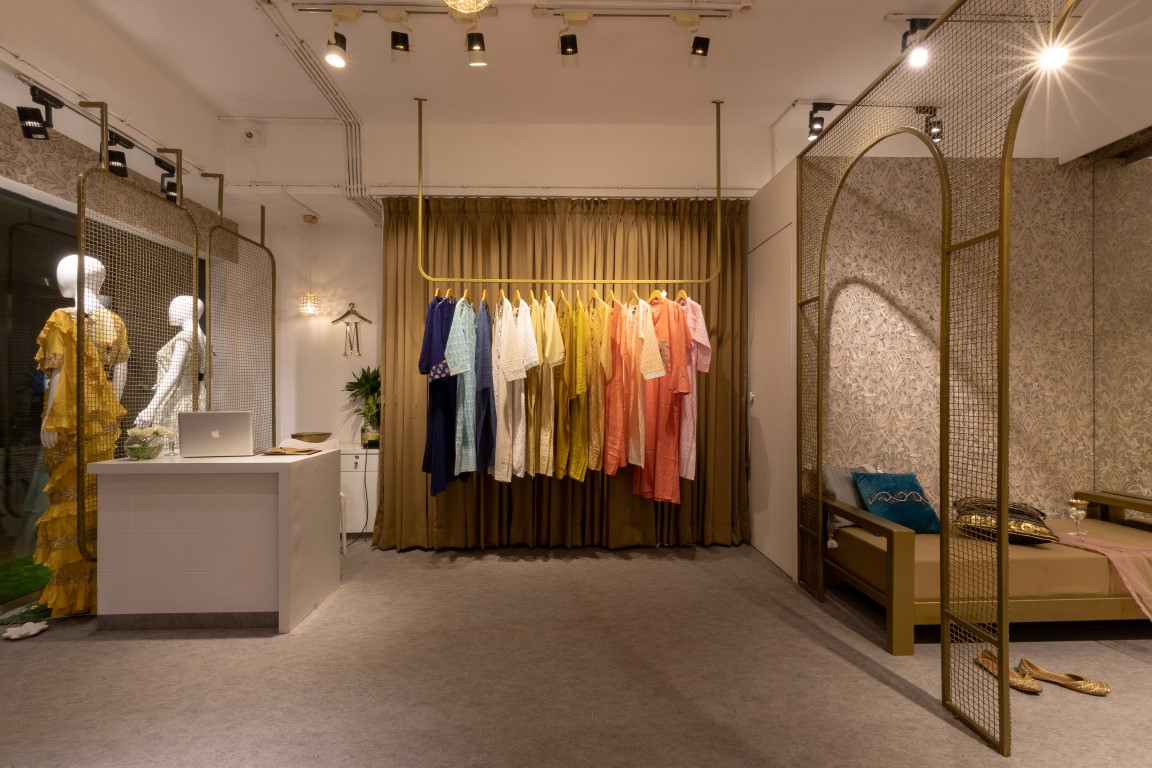 Boutique Design Fusion Of Indian Traditional Elements With Contemporary Touch Interior Muse The Architects Diary