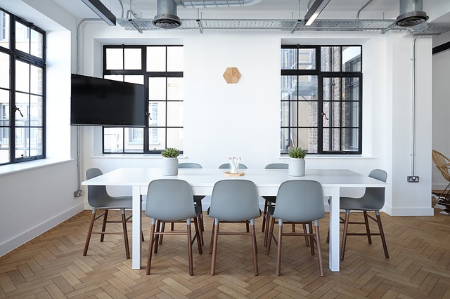 Open-concept office