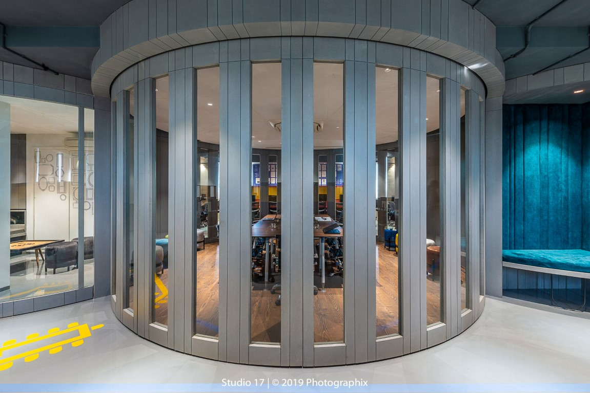 Office Design Is Dominated By Unconventional Material Studio 17 The Architects Diary
