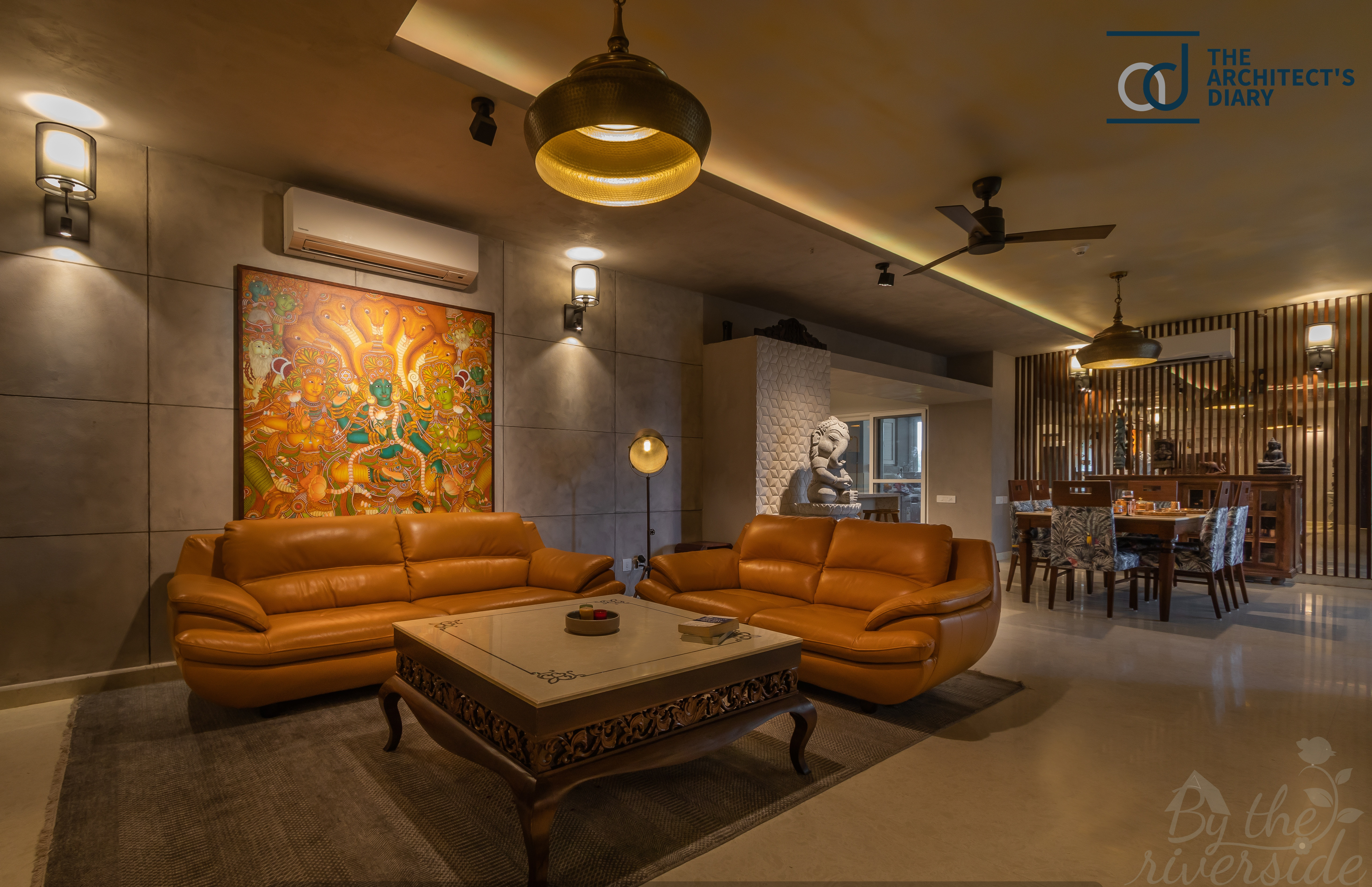 Indian Essence With The Gist Of Contemporary Style By The