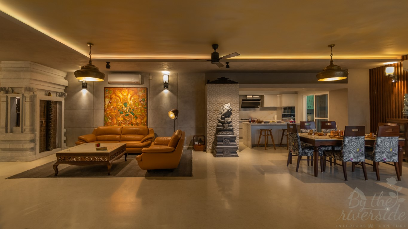 Indian Essence With The Gist Of Contemporary Style By The Riverside The Architects Diary,Modern Pantry Modern Best Kitchen Designs