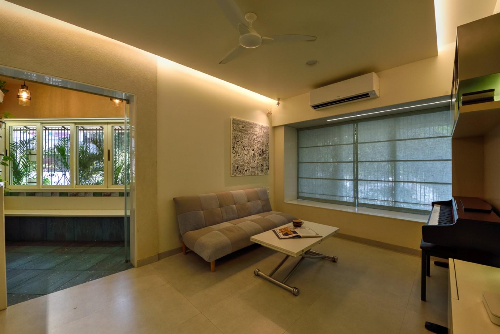 Clutter free 500 apartment interior rathod 39 s - 500 square foot apartment ...