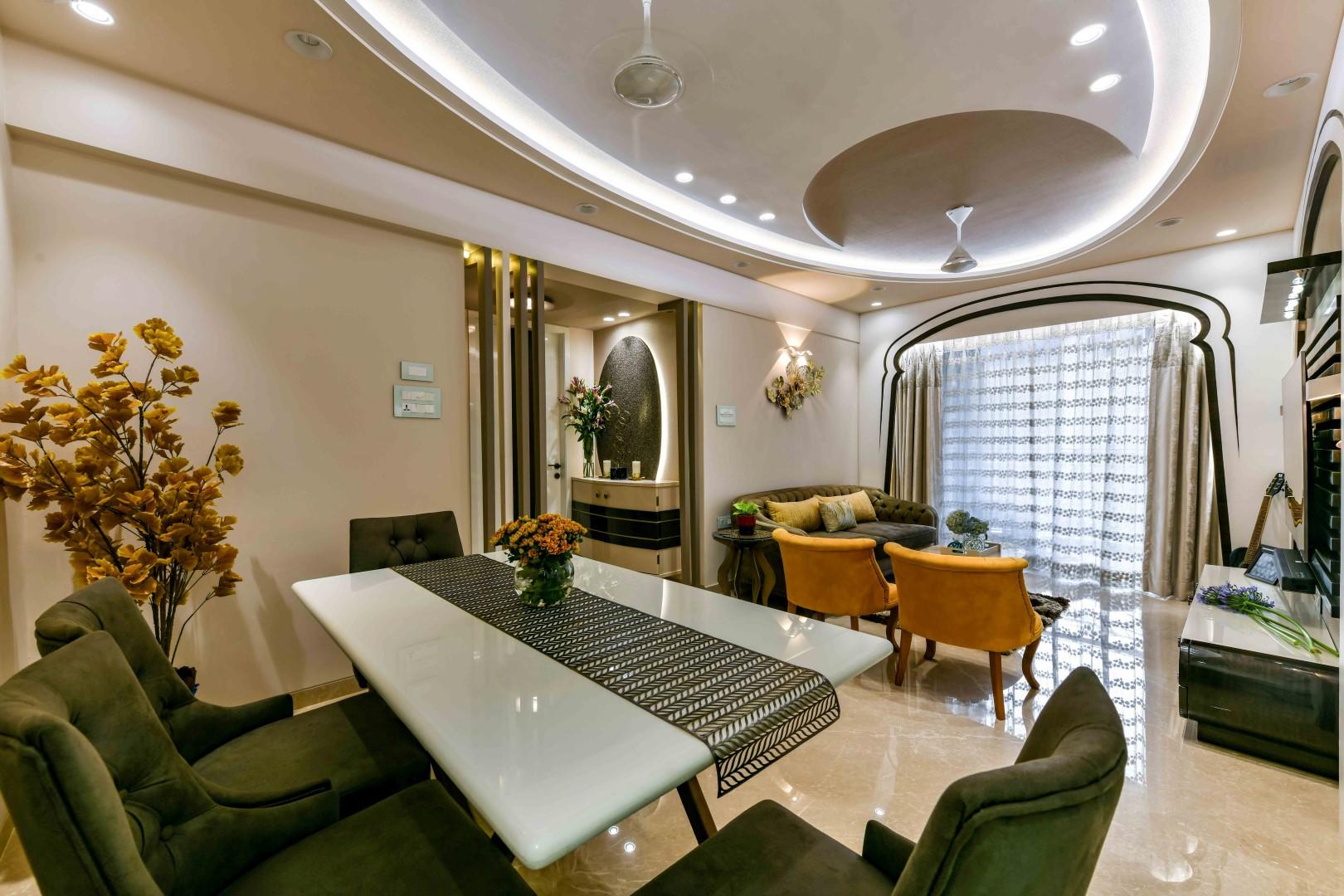 Oriental Style Apartment Interior Balraj Thethi Design The Architects Diary