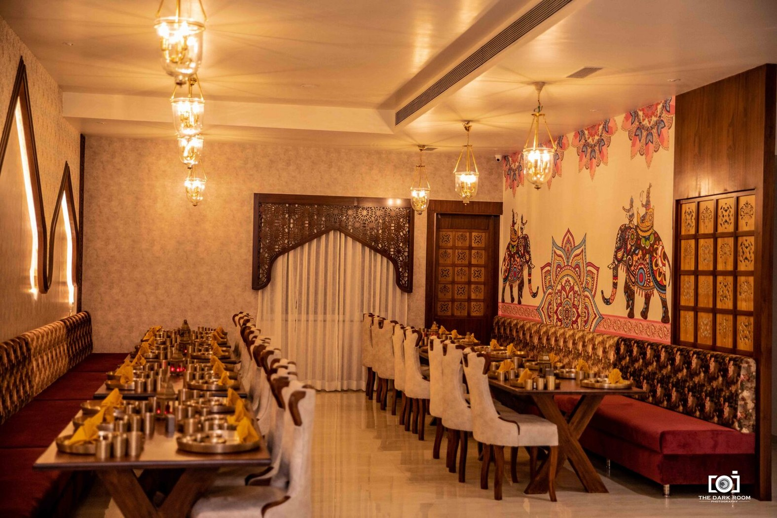 Rajwada The Traditional Style Restaurant In Jabalpur Design Cloud The Architects Diary