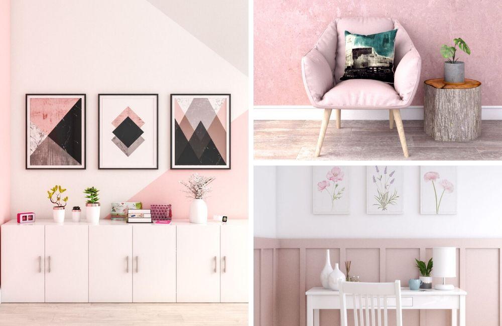 Pink Wall Decor Ideas The Architects Diary