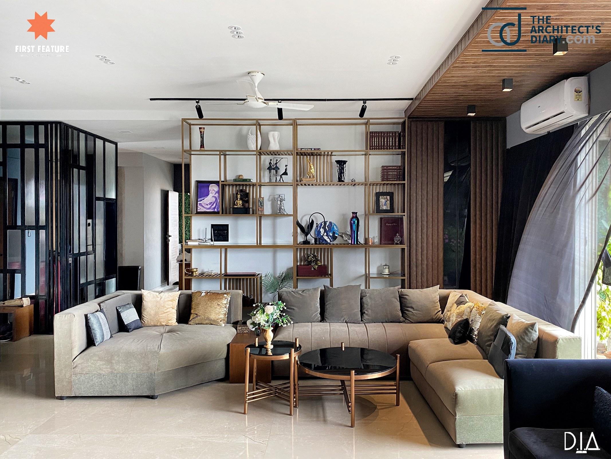 4bhk Apartment Interior Staying True To The Eclectic Vibe D I A Atelier The Architects Diary