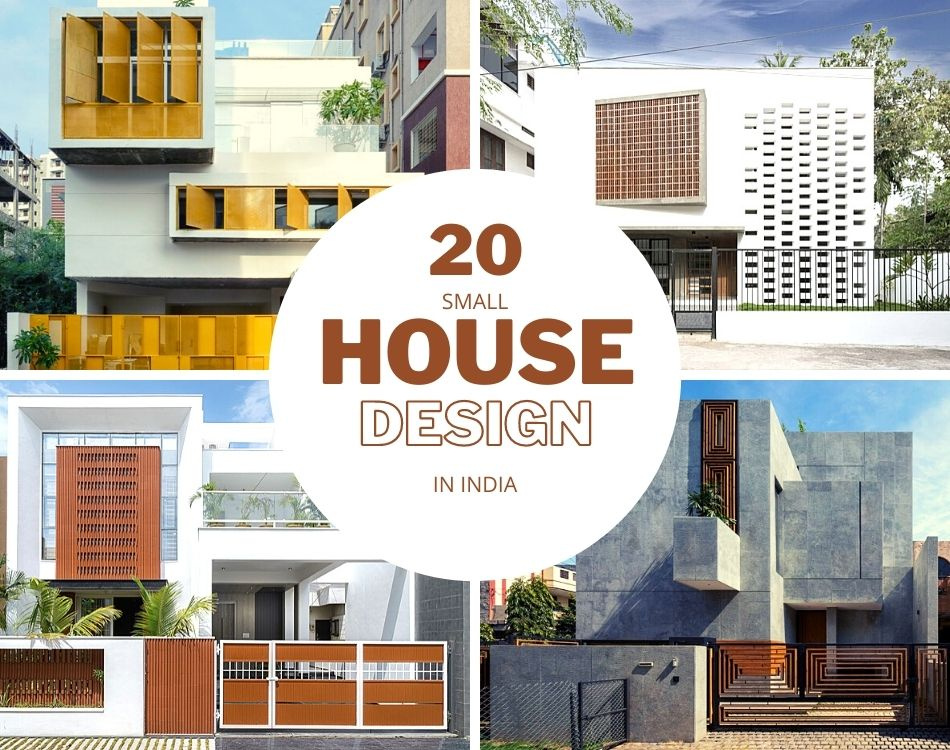 20 Small House Design In India Amalgamating Aesthetics With Functionality The Architects Diary
