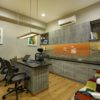 Corporate Office Interior Breaks the Monotony and Boring Environment | M S Design Studio