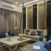 Rose Gold Inspired Apartment | Saima Salam Interior Designer
